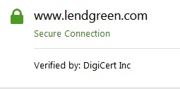 Lendgreen secure connection