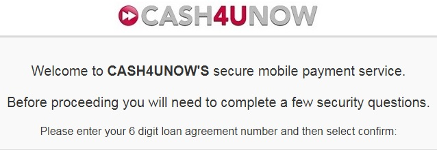 Cash4uNow repayment 2