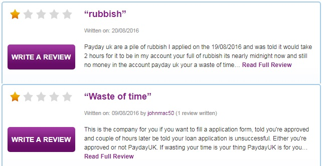paydayUk reviews 5