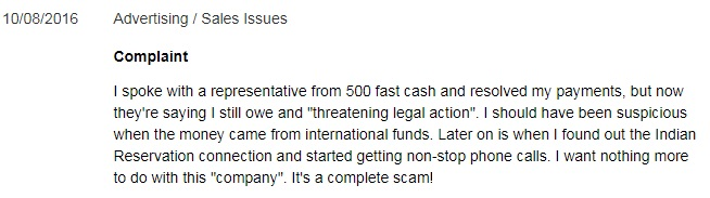 500FastCash review 3