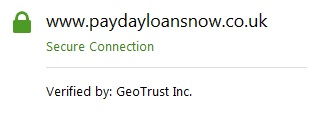Payday Loans Now security