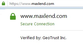 Maxlend connection