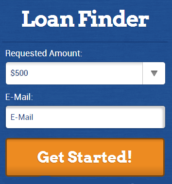 bad credit loans application