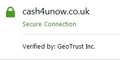 Cash4uNow encryption