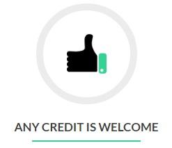 any credit