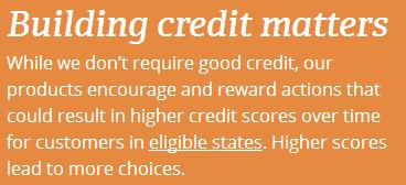 building credit matters