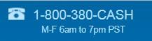 CashAdvance phone number