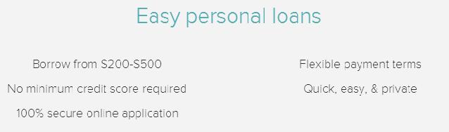 easy personal loans
