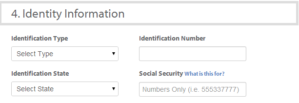 identity information