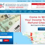 UsaCheckCashingStore.com Review: Unclear Terms and Many Conventional Stores